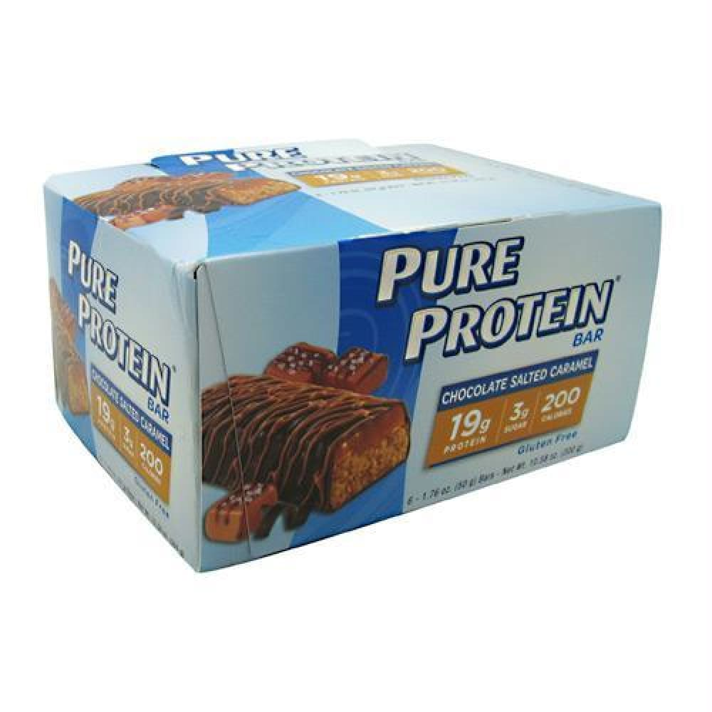 Pure Protein Pure Protein Bar Maple Caramel - Gluten Free - Chocolate Salted Caramel / 6 ea - Bars