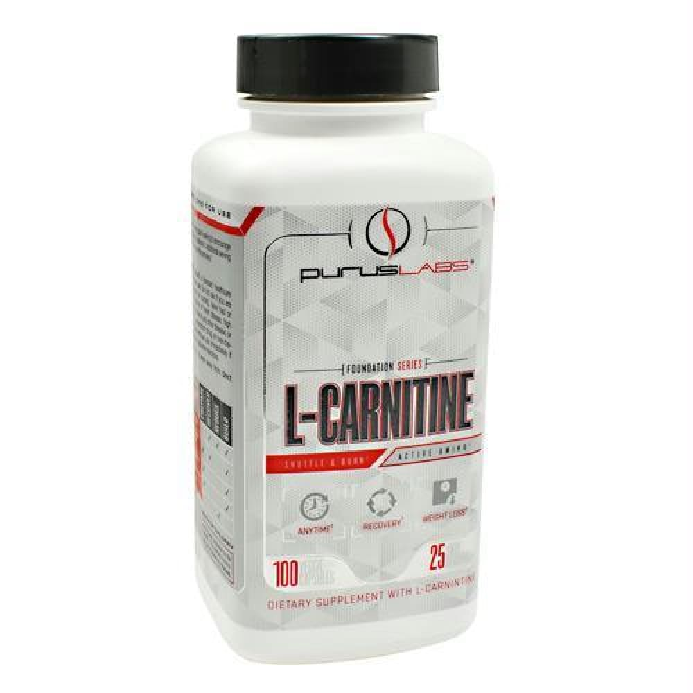Purus Labs Foundation Series L-Carnitine - 100 ea - Supplements
