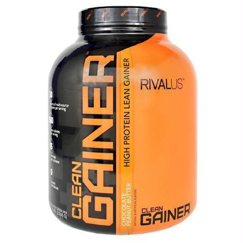 Rivalus Clean Gainer Chocolate Fudge - Chocolate Peanut Butter / 5 lb - Supplements