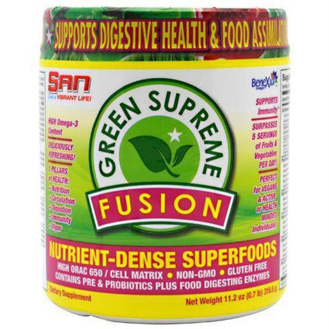 SAN Green Supreme Fusion - Gluten Free - 30 ea - Supplements