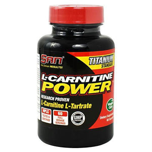 SAN L-Carnitine Power - 60 ea - Supplements