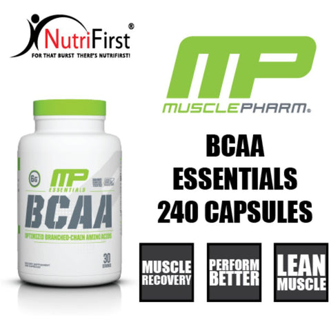Image of MusclePharm Essentials BCAA