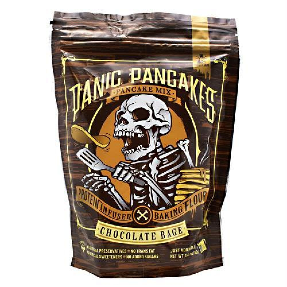 Sinister Labs Panic Pancakes Pancake Mix Chocolate Rage - Chocolate Rage / 6 ea - Snacks / Foods