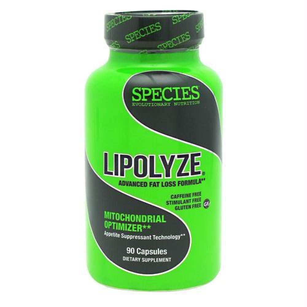 Species Nutrition Lipolyze - Gluten Free - 90 ea - Supplements