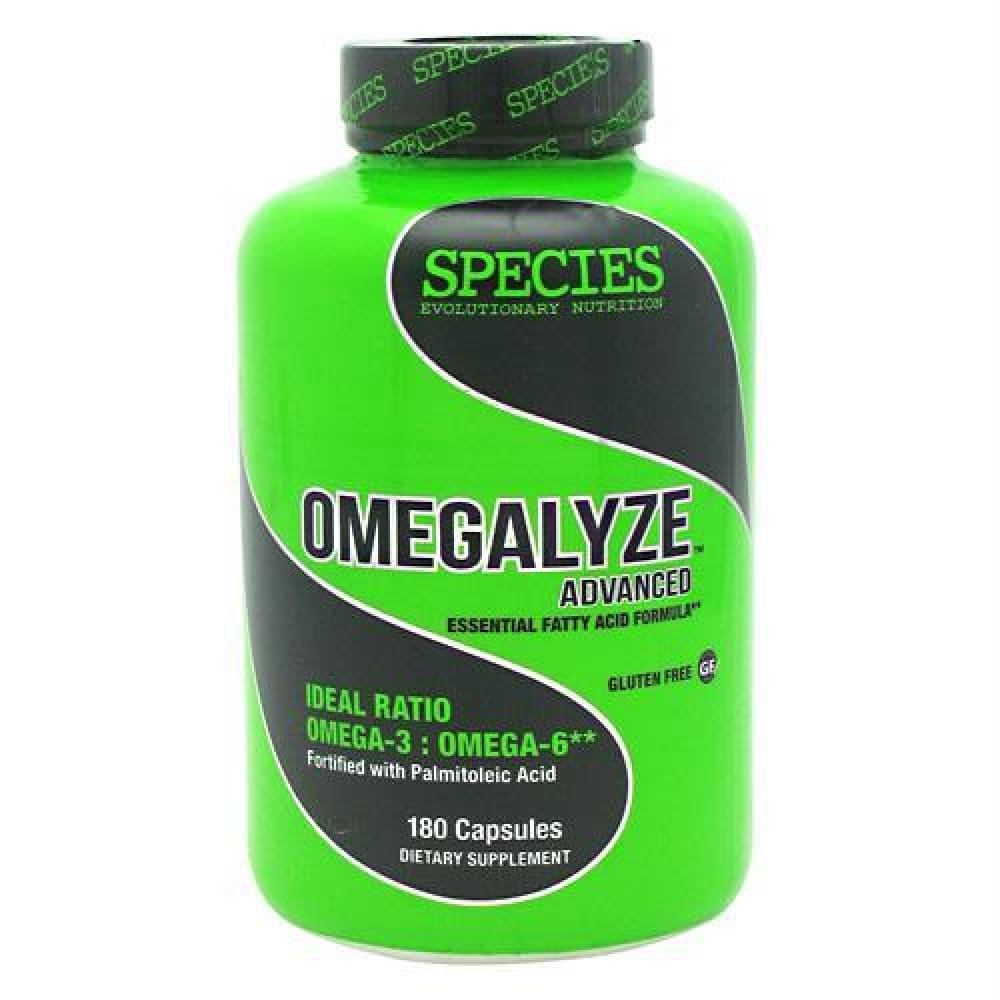 Species Nutrition Omegalyze Advanced - 180 ea - Supplements