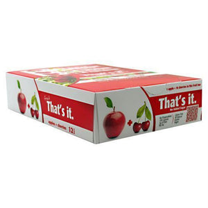 Thats It Nutrition Thats it Bar Apple + Coconut - Gluten Free - Apple + Cherry / 12 ea - Bars