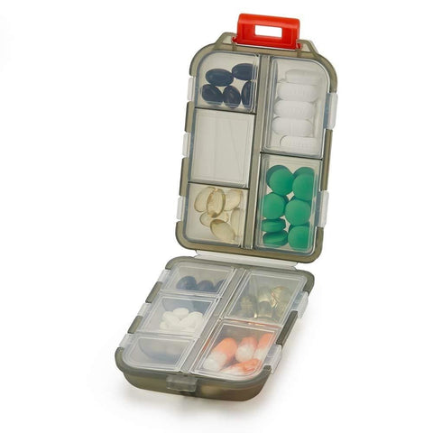 Travel Pill Organizer Case