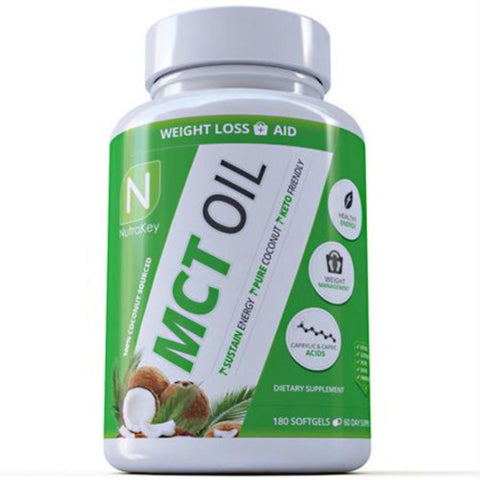 Image of Nutrakey MCT Oil - Gluten Free