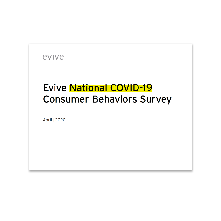 Evive white paper: National COVID-19 Consumer Behaviors Survey