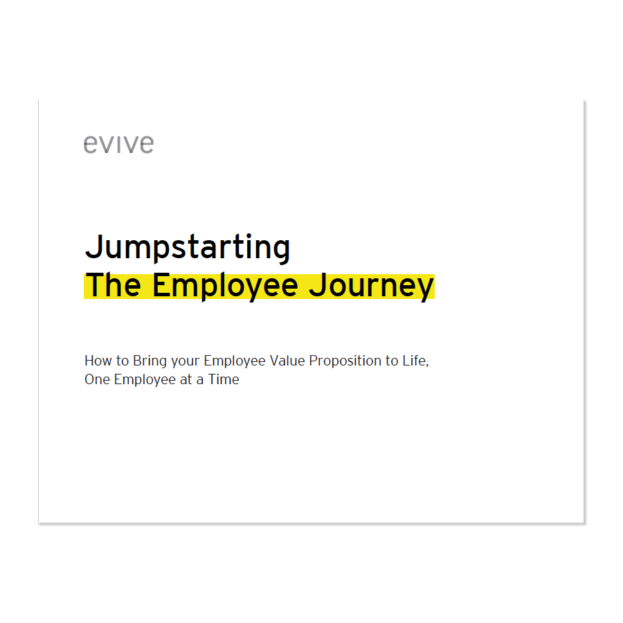 Evive eBook: Jumpstarting the Employee Journey