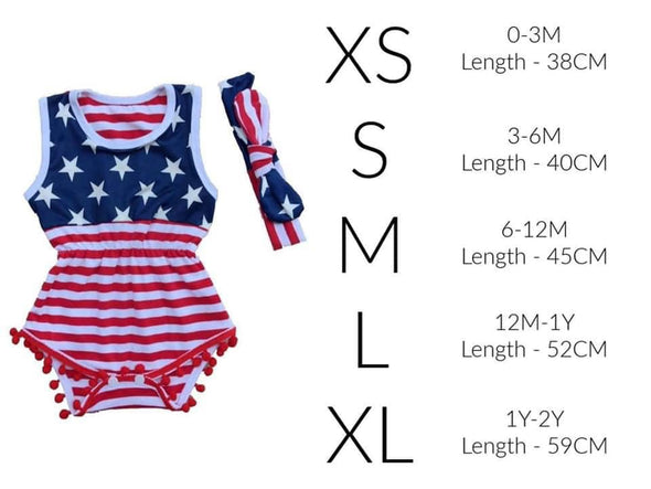 Patriotic Romper Set