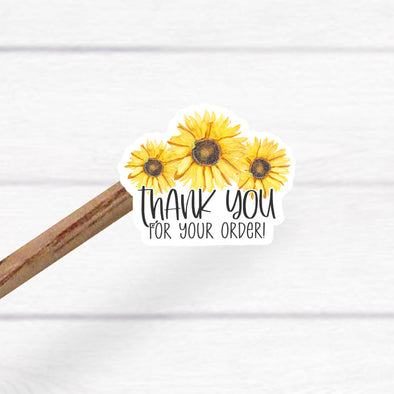 S19 Thank You Sunflowers (25)  - Stickers