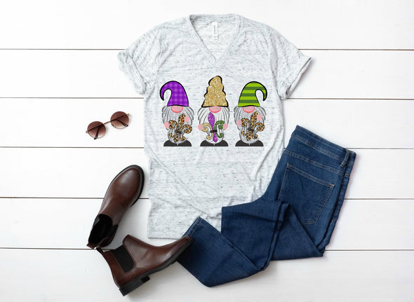 Mardi Gras Gnomes - Sublimation Transfer