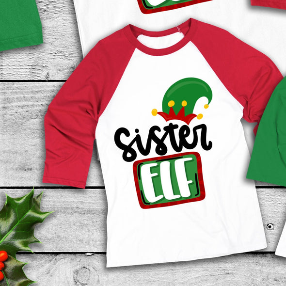 D67 YOUTH Sister Elf - Screen Print Transfer