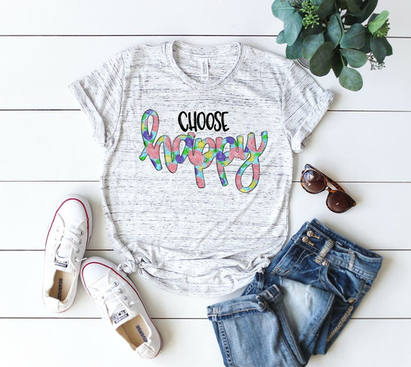 Choose Happy - Sublimation Transfer