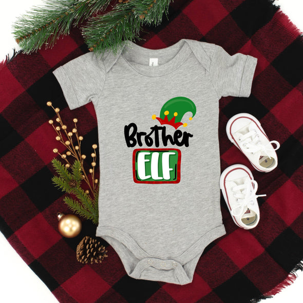 E11 INFANT Brother Elf - Screen Print Transfer