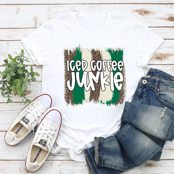 Iced Coffee Green - Sublimation Transfer