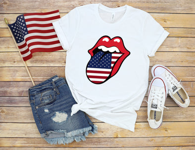 Tongue USA - Sublimation Transfer