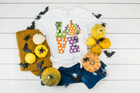 LOVE Halloween - Sublimation Transfer