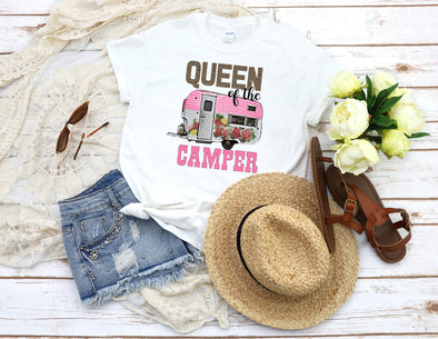 Queen of the Camper - Sublimation Transfer