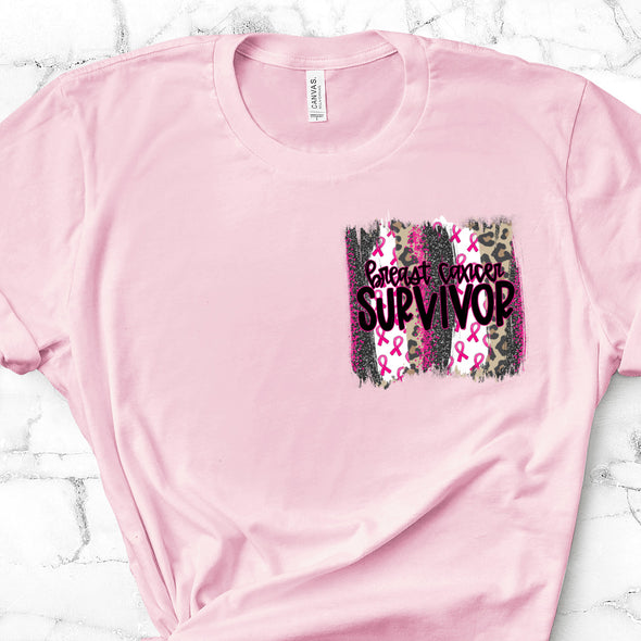 Patch Breast Cancer Survivor -  Screen Print Transfer