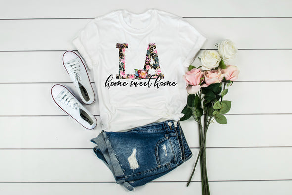 LA Home Sweet Home - Sublimation Transfer