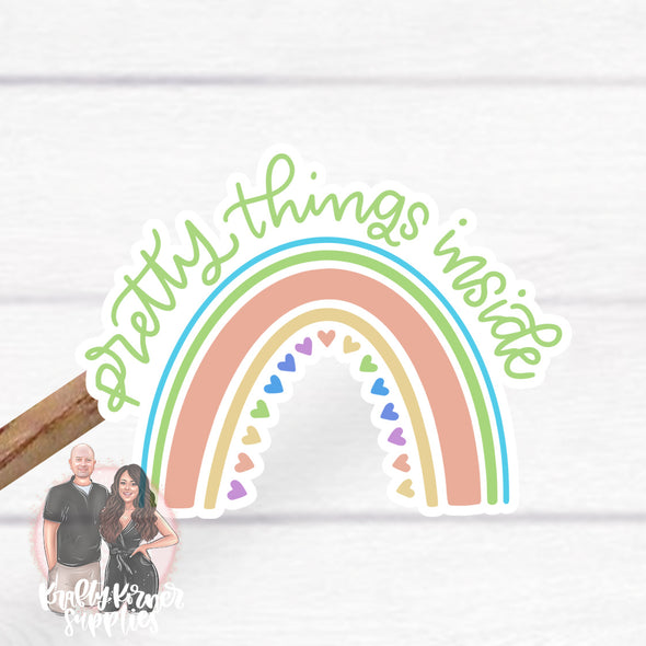 S48 Pretty Things Inside Rainbow (25) Stickers