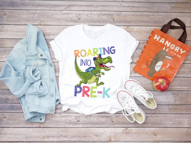 Roaring into Pre K - Sublimation Transfer
