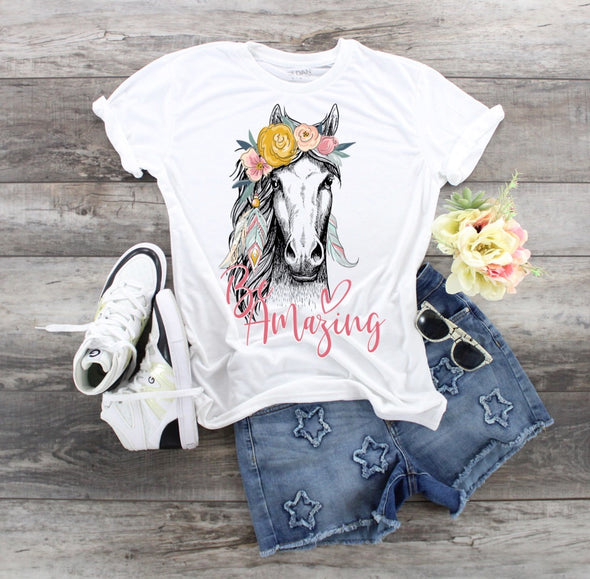 Be Amazing Horse - Sublimation Transfer
