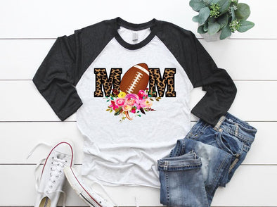 Football Mom - Sublimation Transfer