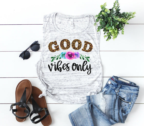 Good Vibes Only - Sublimation Transfer
