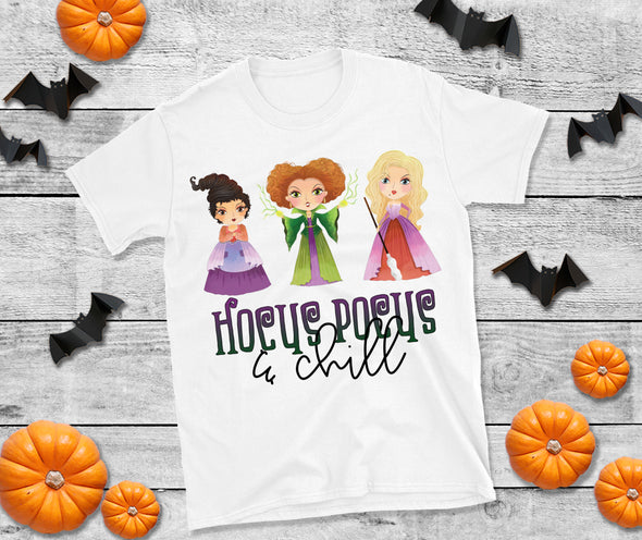 Hocus Pocus and Chill - Sublimation Transfer