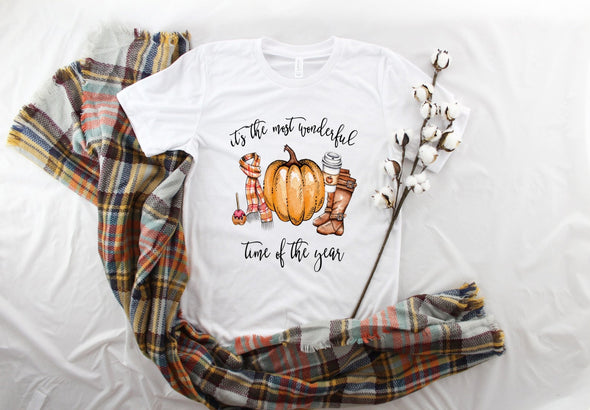 Fall Most Wonderful Time - Sublimation Transfer