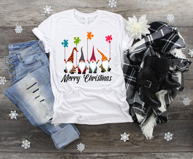 Autism Merry Christmas - Sublimation Transfer