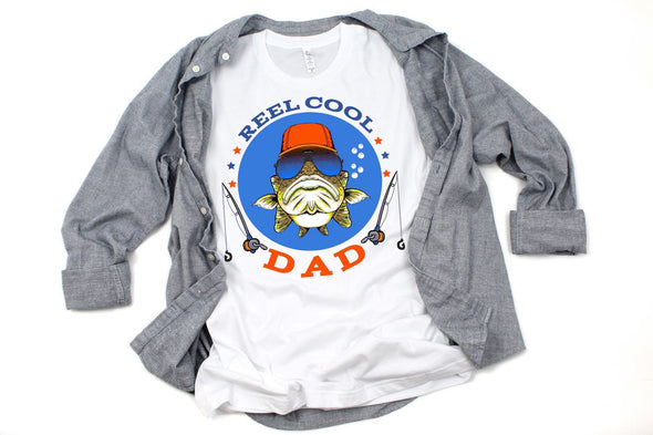Reel Cool Dad - Sublimation Transfer