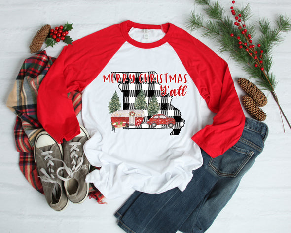 Merry Christmas Missouri - Sublimation Transfer