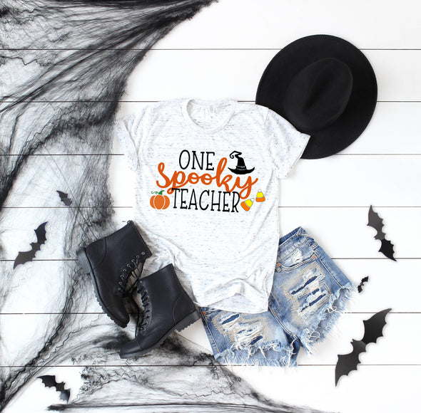 One Spooky Teacher - Sublimation Transfer
