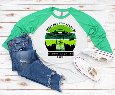 They Can't Stop UFO - Sublimation Transfer
