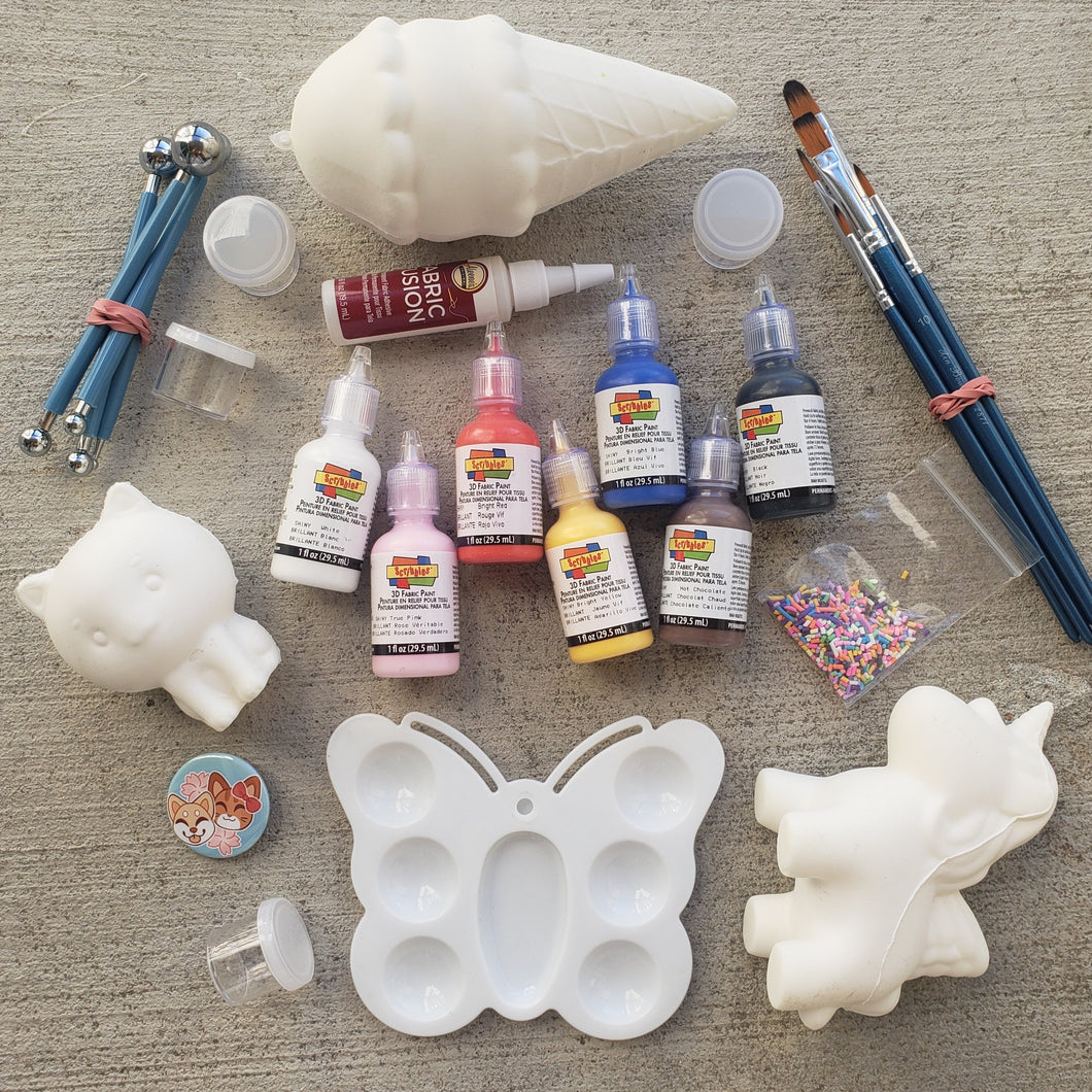 April 2019: DIY Squishies Starter Kit - Craft Kitsune