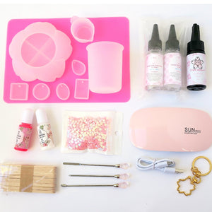 Craft Kitsune Starter Kit (2-Part & UV Resin) - Craft Kitsune