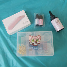 Load image into Gallery viewer, UV Resin Starter Kit 2.0 - Craft Kitsune