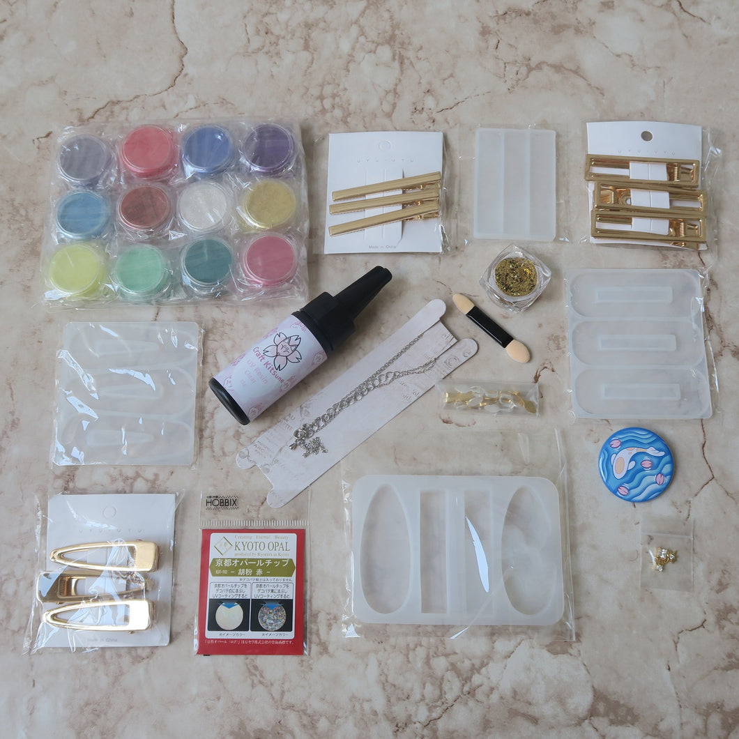 June 2020 Kit: UV Resin Accessoiries - Craft Kitsune