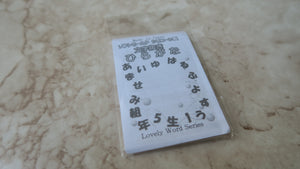Hiragana (Japanese Alphabet) Clear Silicone Mold - Craft Kitsune