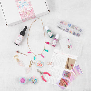 May 2019: UV Resin Jewelry & Accessories - Craft Kitsune