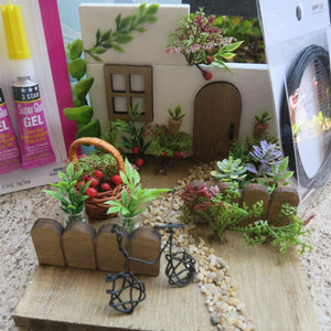 March 2021: Natural Garden Dioramas