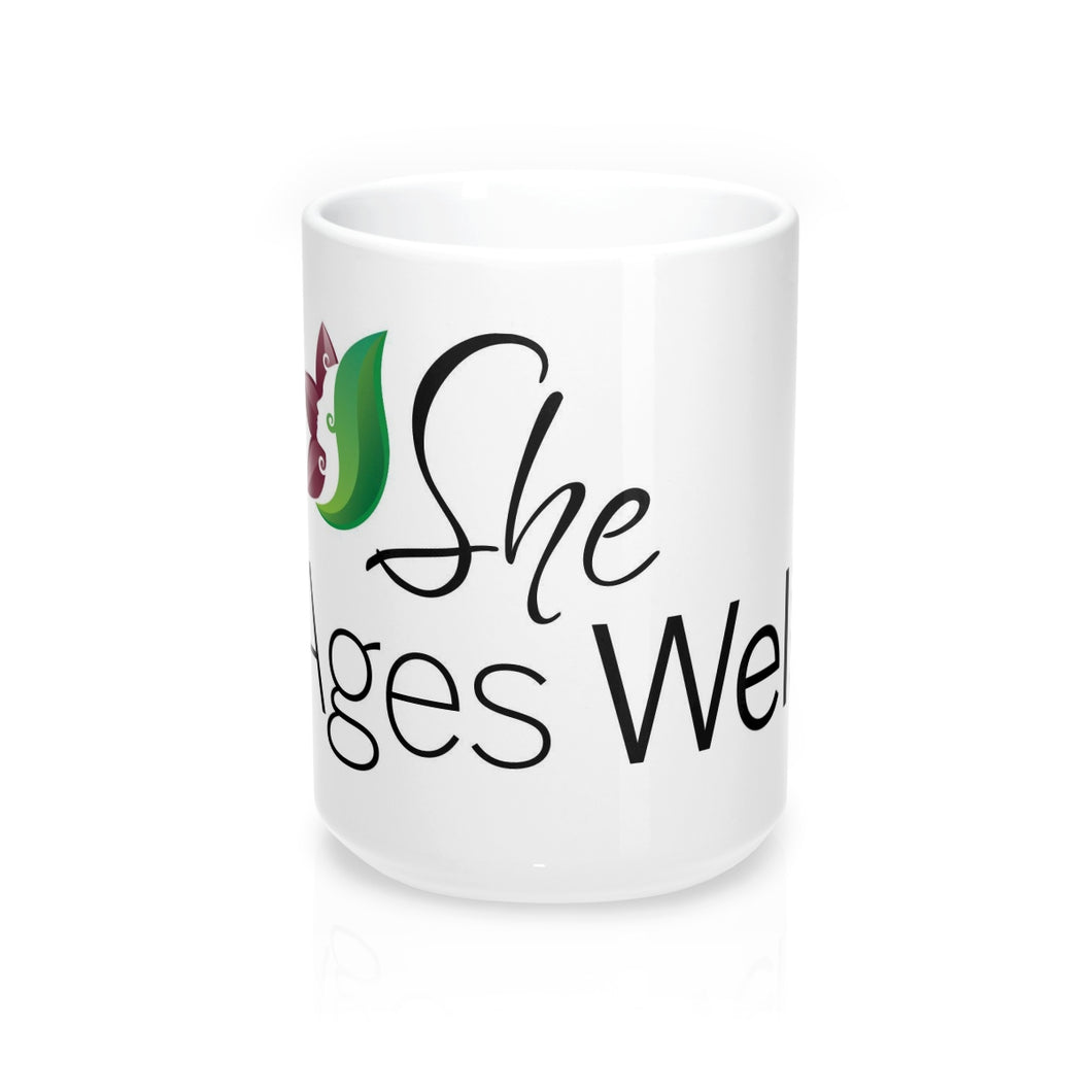 She Ages Well - Mug 15oz