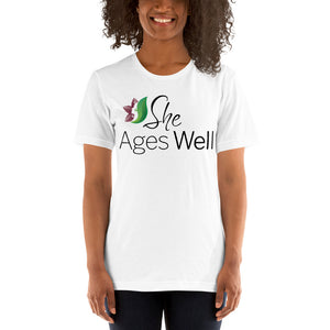 She Ages Well - Short-Sleeve T-Shirt