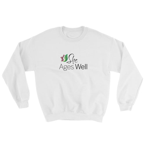 She Ages Well Sweatshirt