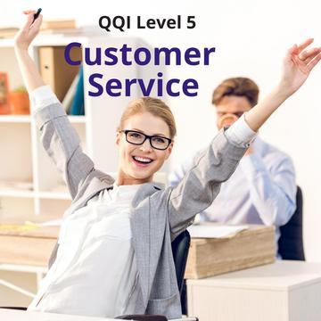 Customer Service QQI Level 5 - Virtual Class