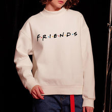 Load image into Gallery viewer, Round Neck  Letters  Sweatshirts